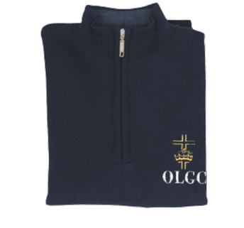 Quater Zip-Up Sweater (Boys or Girls)
