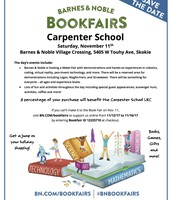 Barnes & Noble Book Fair Flyer
