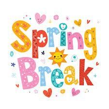 Enjoy your April Vacation!