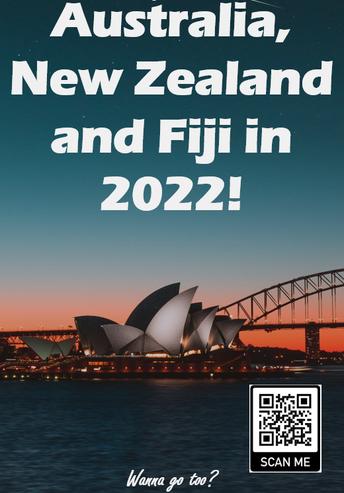 2022 Trip to Australia, New Zealand, and Fiji