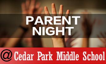 5th Grade Parent Night and Student Visits at CPMS