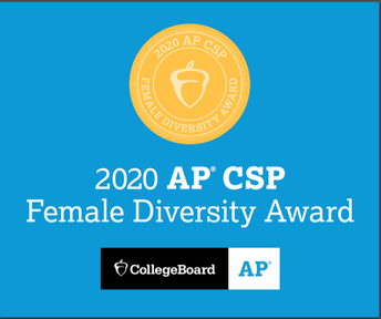 NEW: SVHS Earns College Board AP Computer Science Female Diversity Award