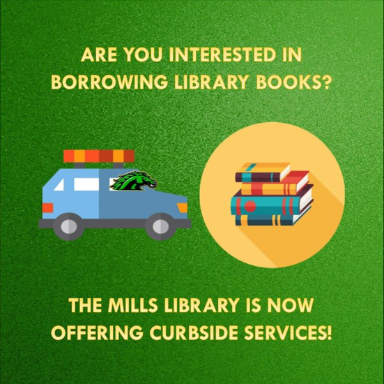 Mills Website - Library Page