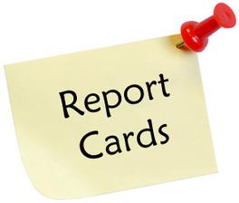 REPORT CARDS & ISAT/IRI SCORES
