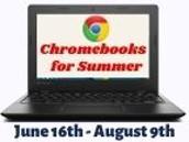 Chromebooks for the Summer