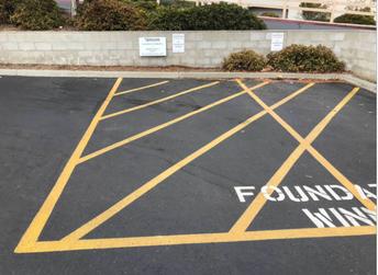 Parking Spot Raffle
