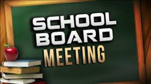 October 16th ~ Board of Education Meeting