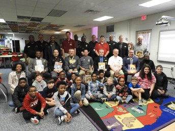 Real Men Read at West Point Elementary