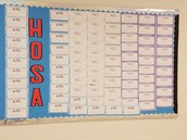 Students Celebrate HOSA Week