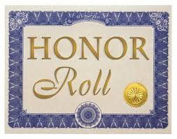 Congratulations Honor Roll Students! (¡Felicitaciones a los estudiantes del Cuadro de Honor!)