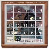 Polar Express Activity Calendar