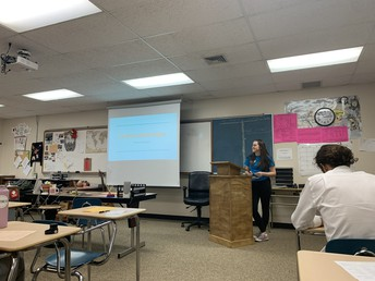 Early Senior Project Presentations