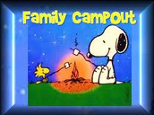 Thursday, March 23rd: Dieck Family Campout 6:00- 7:30pm
