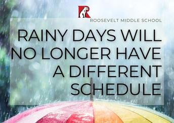 Rainy Day Update