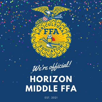 New!! Horizon Middle FFA Chapter