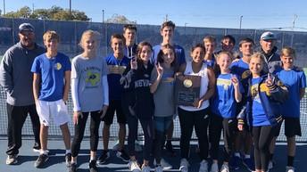 JV Tennis Wins District Title