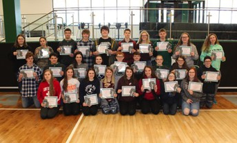 Sophomore Academic Award Recipients