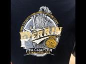 Navy FFA Shirt