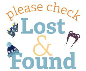 Lost and Found is OVERFLOWING