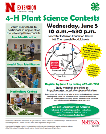2019 Plant Science Contest