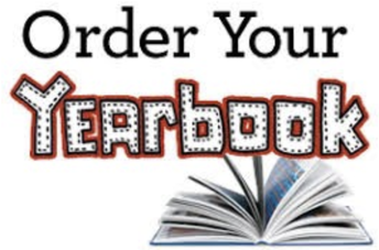 YEARBOOKS ARE ON SALE:  Buy now & save...price goes up September 1st