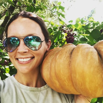 When Tigers can't go to the garden, Cassie McDaniel brings the garden to our Tigers