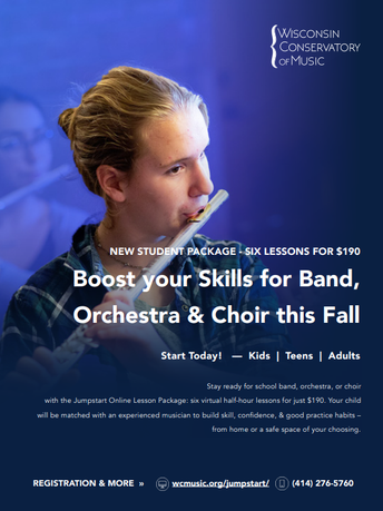 Jumpstart Band, Orchestra, & Choir with Online Music Lessons