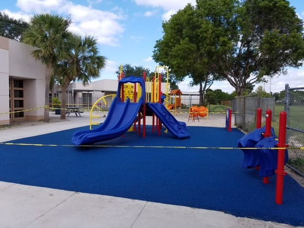 Primary Playground upgrades