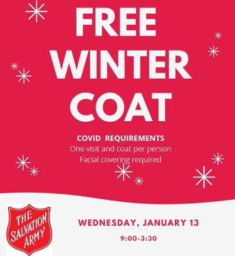 January Coat Distribution