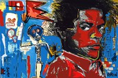 Samo, by Jean Michel Basquiat