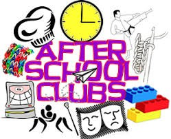 AFTER SCHOOL CLUBS RESUME FOR THE 2ND SEMESTER AS OF MONDAY, JANUARY 13th