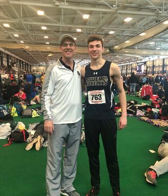 Sr. Dan Maloney & Coach Green