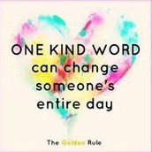 IT'S IMPORTANT TO BE KIND!