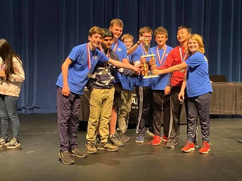 Academic Team Wins @ State