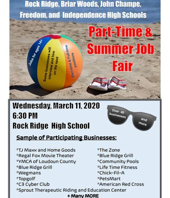 Job Fair @ Rock Ridge High School