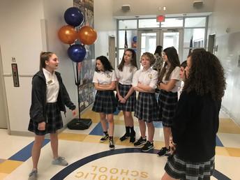 8th Grade - Visit to John Paul the II Catholic School