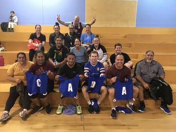 Kia Mataara Teachers Netball Team
