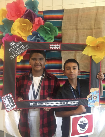 We would like to congratulate two of our students Giancarlos and Jovanny for their participation in the 1st Annual Ventura County Latino/Indigenous Student Speech Competition.