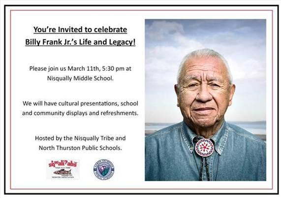 Billy Frank Jr Celebration