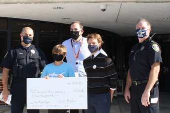 Wilmette Police Department Recognizes MM 8th Grader