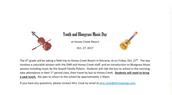 Bluegrass Festival!