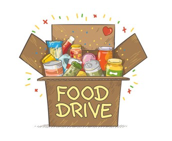 Student Council's 3rd Annual Food Drive February 17-26th