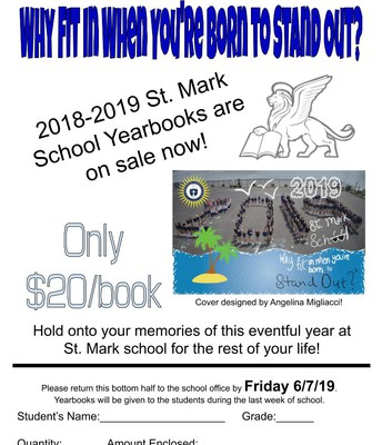 Order your 2018-2019 yearbook today!