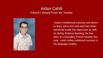 Aidan Cahill
