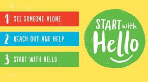 """Start With Hello"" Week Monday 9/23 - Friday 9/28"