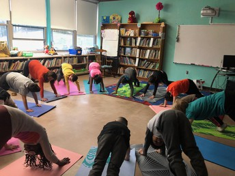 Yoga Class at Greystone Elementary School