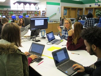 Collab Zone Document Analysis with Ms. Corson's Classes