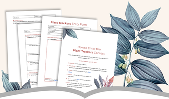 Enter the Plant Trackers Contest For Grades 3rd - 6th