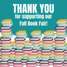 Thank You for Supporting our Fall Scholastic Book Fair