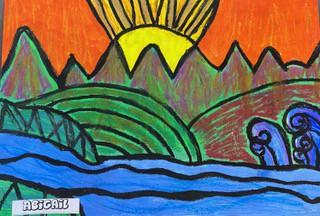 Rm 12 Pepeha artwork (Abigail Williamson)